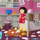 Играть Уборка в комнате девочки онлайн