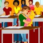 Играть Первый поцелуй онлайн